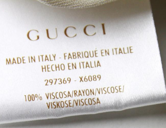 Gucci Women's Champagne Ivory Halter Top Image 4