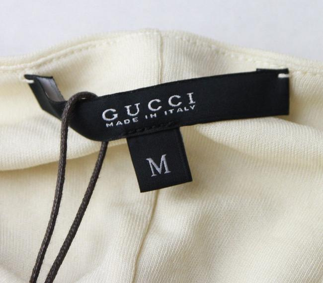 Gucci Women's Champagne Ivory Halter Top Image 5