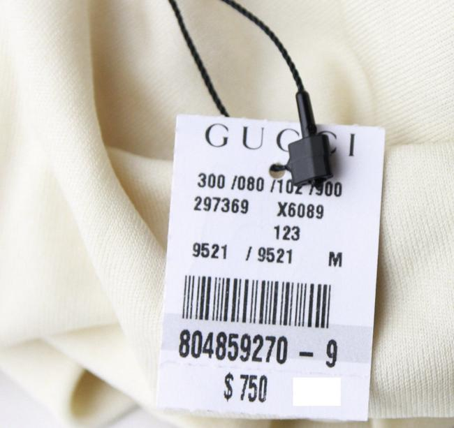 Gucci Women's Champagne Ivory Halter Top Image 7