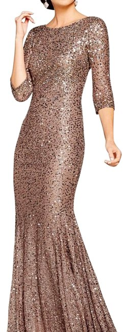 Preload https://item5.tradesy.com/images/adrianna-papell-dark-rose-gold-long-formal-dress-size-0-xs-22836049-0-2.jpg?width=400&height=650