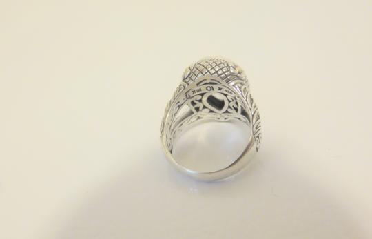 Other Bali Designs 8.07ct Pear-Cut White Topaz 2-Tone Ring Size 8 Image 2