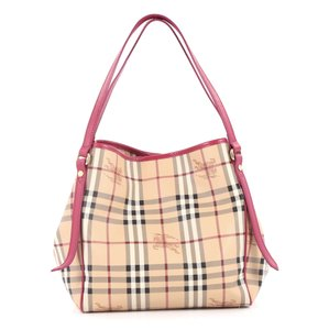 Burberry Canvas Tote in Beige