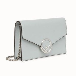 Fendi Wallet On Chain Woc F Tote in Light Grey