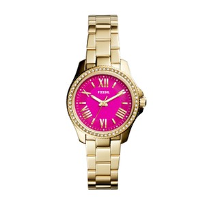 Fossil Fossil Women's Cecile AM4598 Gold Stainless-Steel Quartz Watch