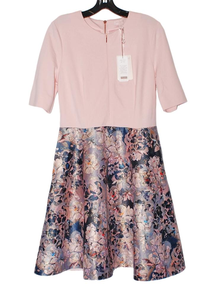 7f8866e1618554 Ted Baker short dress Pale Pink Amarlia Eloquent on Tradesy Image 0 ...