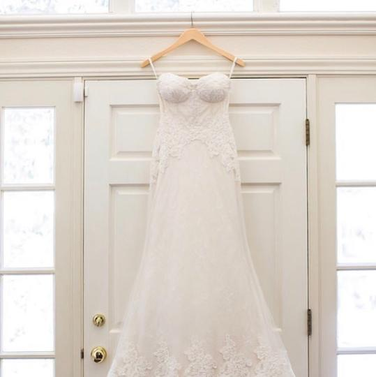 Anne Barge Off White Lace Avalon On 2017 Modern Wedding Dress Size 4 (S) Image 10