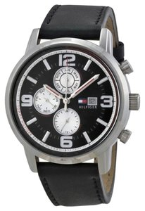 Tommy Hilfiger Tommy Hilfiger Male Dress/Casual Watch 1710335 Black Analog
