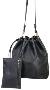 Fendi Vintage Epi Leather Drawstring Bucket Shoulder Bag