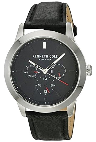 Preload https://img-static.tradesy.com/item/22836805/kenneth-cole-kc15102001-men-s-black-leather-band-with-black-analog-dial-watch-0-1-540-540.jpg