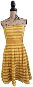 The Limited short dress Gold on Tradesy