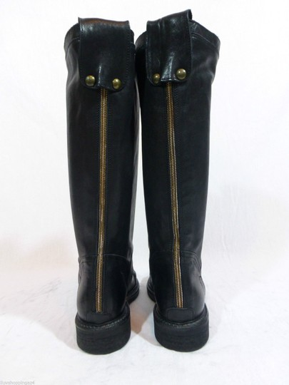 Latitude Equestrian Made In Italy Black Boots Image 2