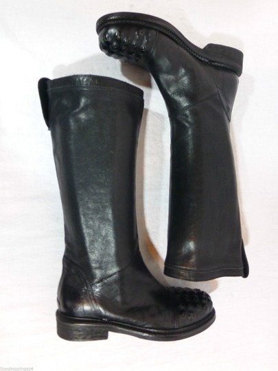 Latitude Equestrian Made In Italy Black Boots Image 4