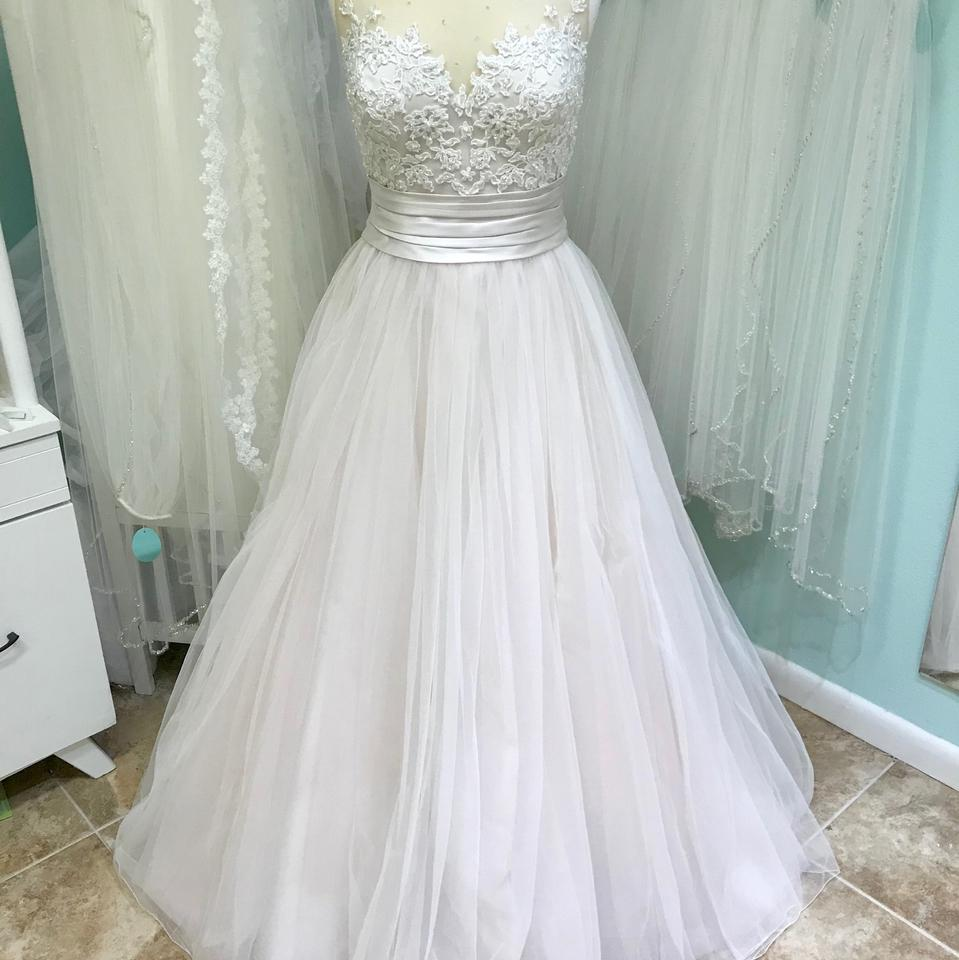 Justin Alexander Sand/Nude Sweetheart By 6169 Traditional Wedding ...