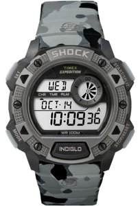 Timex TW4B00600 Expedition Men Grey Resin Band With Grey Digital Dial Watch