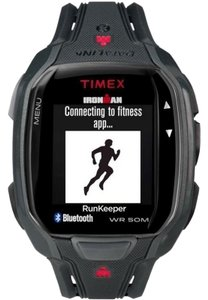 Timex TW5K84600 Ironman Men's Black Resin Band With Black Digital Dial Watch