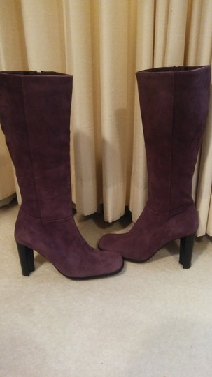 Kenneth Cole Purple Boots Image 1