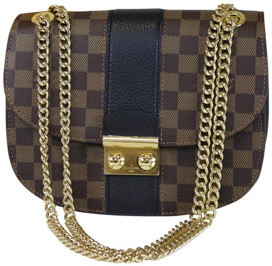 Preload https://item5.tradesy.com/images/louis-vuitton-wight-damier-ebenenoir-canvas-leather-shoulder-bag-22837494-0-2.jpg?width=440&height=440