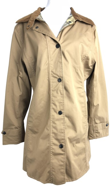 Item - Brown Newmarket Coat Size 10 (M)