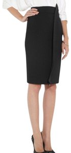 Antonio Berardi Pencil Zipper Up Skirt Black