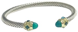David Yurman BRAND NEW!!! NEVER WORN!!! David Yurman Renaissance Faceted Green Onyx Bracelet