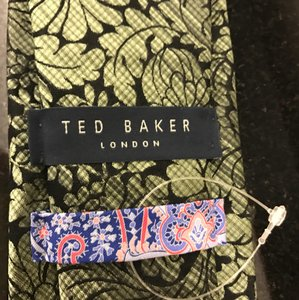 Ted Baker Green/Black Tie/Bowtie