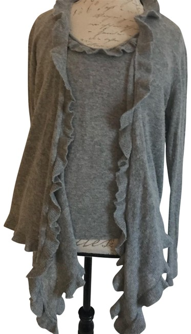 Preload https://img-static.tradesy.com/item/22838290/neiman-marcus-gray-cashmere-cami-and-sweater-cardigan-size-16-xl-plus-0x-0-3-650-650.jpg