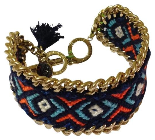Preload https://img-static.tradesy.com/item/22838320/vera-bradley-red-blue-and-white-woven-gold-tone-w-marrakesh-bracelet-0-3-540-540.jpg
