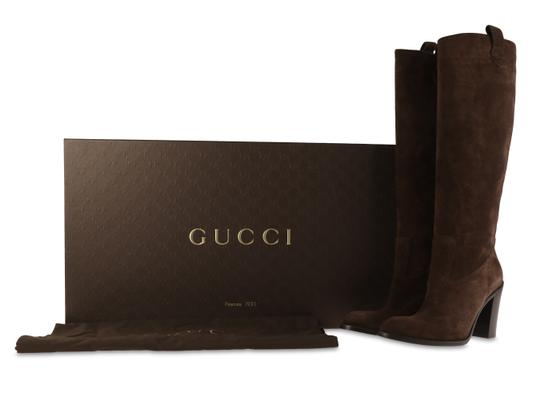 Gucci brown Boots Image 11