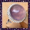 Other New 925 Silver Natural Amethyst Ring Sz 4.75 Image 2