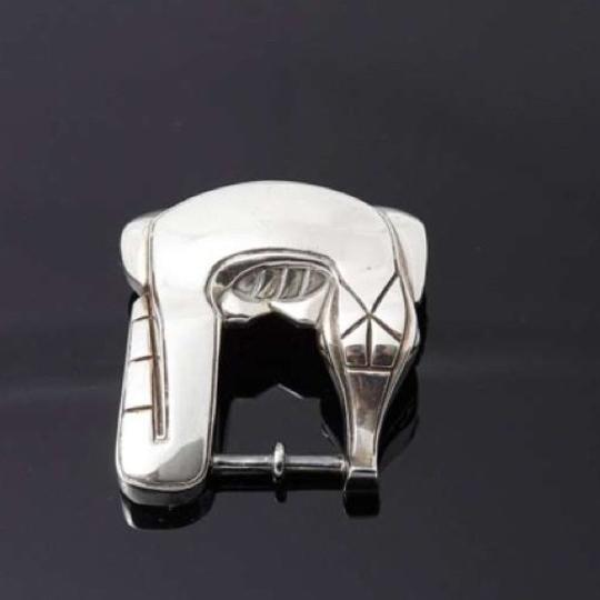 Barry Kieselstein-Cord Barry Kieselstein-Cord Alligator sterling silver buckle Image 1