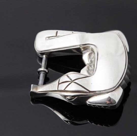 Barry Kieselstein-Cord Barry Kieselstein-Cord Alligator sterling silver buckle Image 2