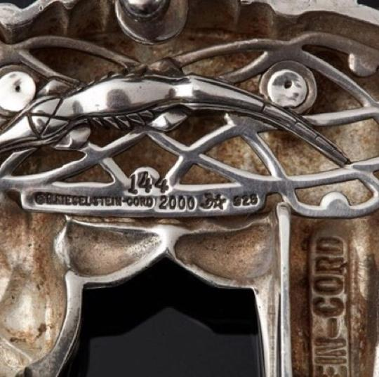 Barry Kieselstein-Cord Barry Kieselstein-Cord Alligator sterling silver buckle Image 5