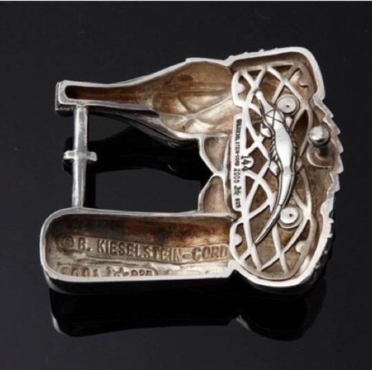 Barry Kieselstein-Cord Barry Kieselstein-Cord Alligator sterling silver buckle Image 6
