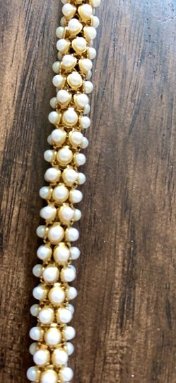 Ann Taylor Ann Taylor pearlized wrap necklace Image 7