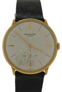 Patek Philippe 1960s Vintage Solid 18K Yellow Gold Patek Philippe Calatrava Watch 2573 with Box
