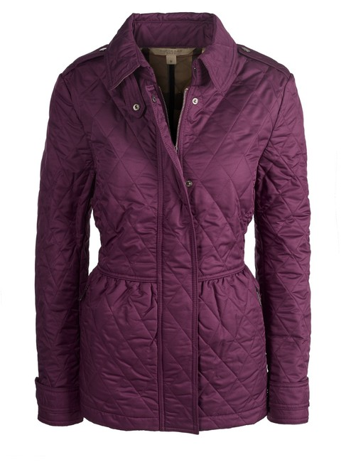 Item - Violet Quilted Jacket Size 16 (XL, Plus 0x)