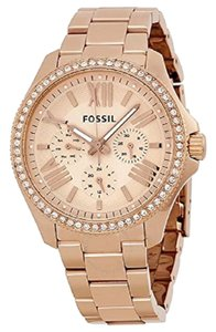 Fossil Fossil Cecile rose gold stainless steel watch