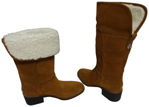 Coach Midcalf Knee Saddle Boots