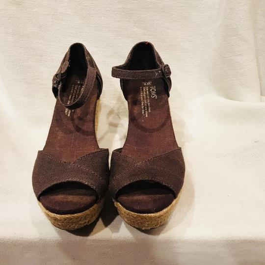 TOMS gray Wedges Image 1