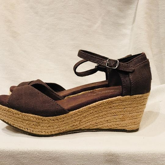 TOMS gray Wedges Image 3