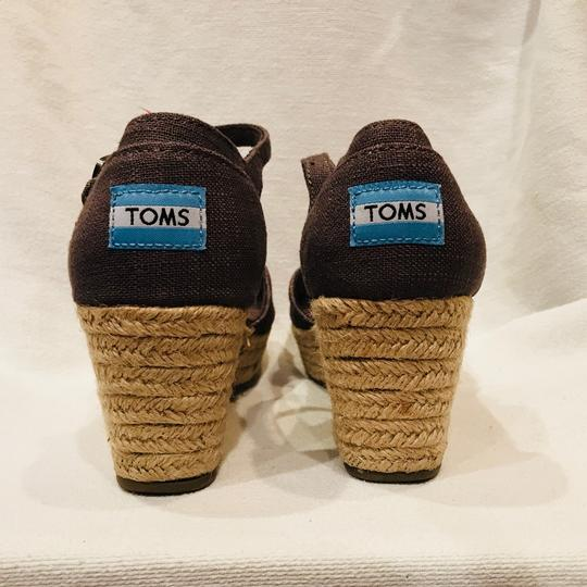TOMS gray Wedges Image 4