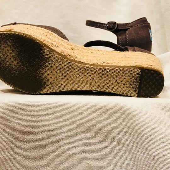 TOMS gray Wedges Image 5