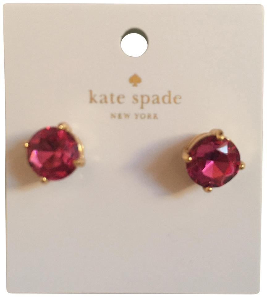 page earrings product bobbles bling jewelry n swarovski file fuschia