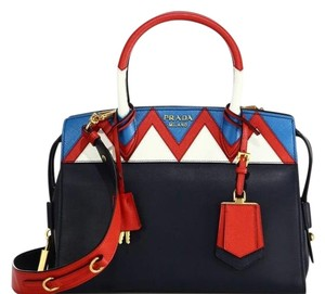 Prada Tote Chanel Satchel in Blue Red
