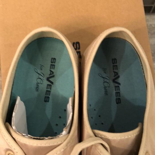 SeeVees For J.Crew khaki/natural satin Flats Image 4