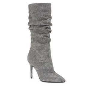 Jessica Simpson pewter Boots