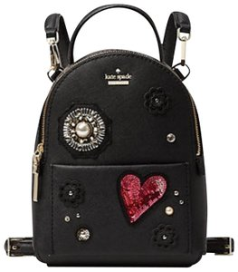 976ccc67fb37 Added to Shopping Bag. Kate Spade Mini Black Backpack. Kate Spade Finer  Things ...