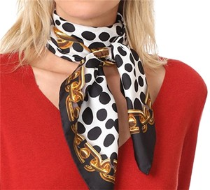 "Marc Jacobs NEW! Marc Jacobs 100% Silk Square 35"" Scarf"