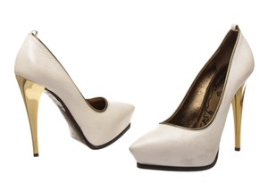 Lanvin White Pumps