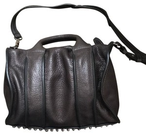 Alexander Wang Studded Edgy Modern Chic Satchel in Taupe